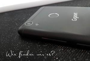 Fingerabdrucksensor und Kamera Gigaset GS270 plus