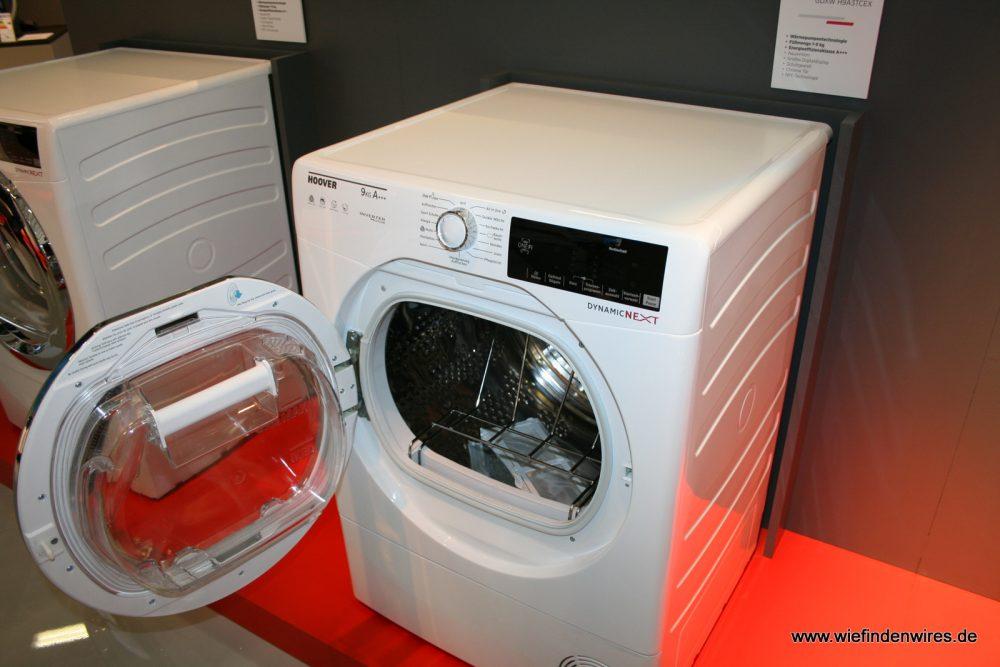 Candy hoover gmbh ifa 2017 die sprechende waschmaschine u.a